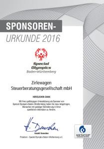 Sponsoren-Urkunde_Zirlewagen-Steuerberatung_2016